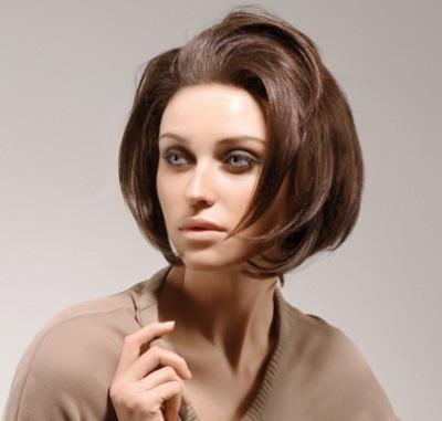 Carre Arrondi Coiffure - Femme Cheveux Mi-longs Sur Coupe2cheveux.com