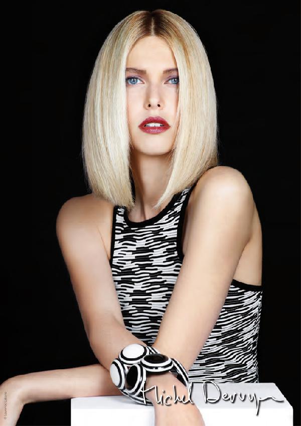 Coiffure carr classique femme cheveux mi longs sur - Coupe carre court classique ...