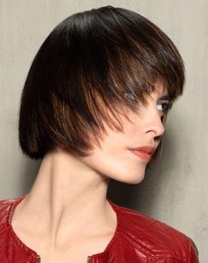 Coiffure carr d grad effil femme cheveux courts sur - Carre degrade effile court ...