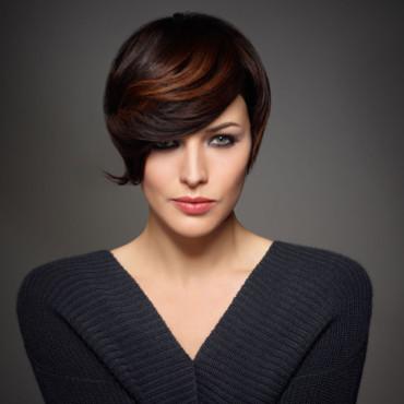 coiffure coupe arrondie