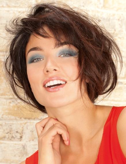 Coiffure courte coiff e d coiff e femme cheveux courts sur - Coupe destructuree courte ...