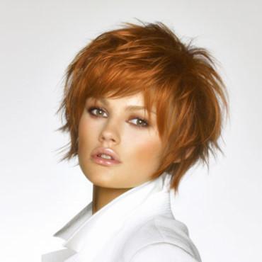coiffure destructurée courte