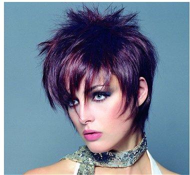 Coiffure femme cheveux courts - Femme cheveux courts sur Coupe2cheveux.com