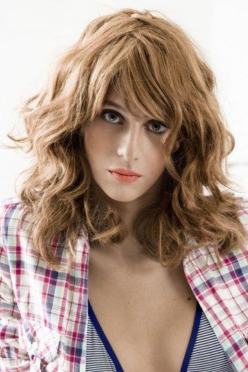 Coiffure coupe carr long ondul femme cheveux longs sur - Carre long ondule ...